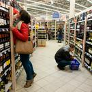 Alcohol could be less visible to shoppers in the future. Photographer: Peter Kollanyi/Bloomberg