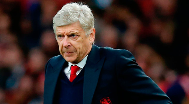 Arsene Wenger: 'Our collective performance was less smooth, less fluent. We have come out of a strong period. You don't win on command. Everybody can have a draw' Photo: IAN KINGTON/AFP/Getty Images