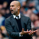 Manchester City manager Pep Guardiola Photo: Reuters / Phil Noble