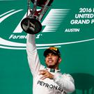 Lewis Hamilton got his first victory in three months Photo: AP Photo/Eric Gay