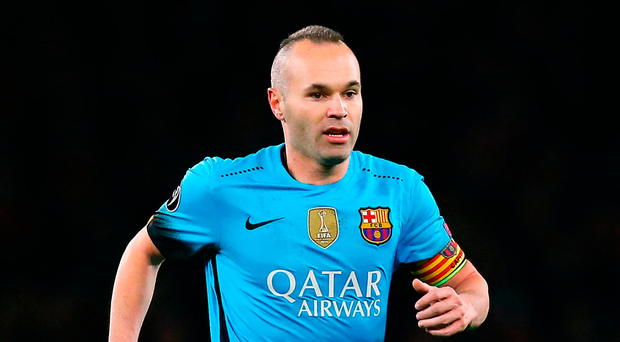 Andres Iniesta could be out of contention for eight weeks Photo: Adam Davy/PA Wire