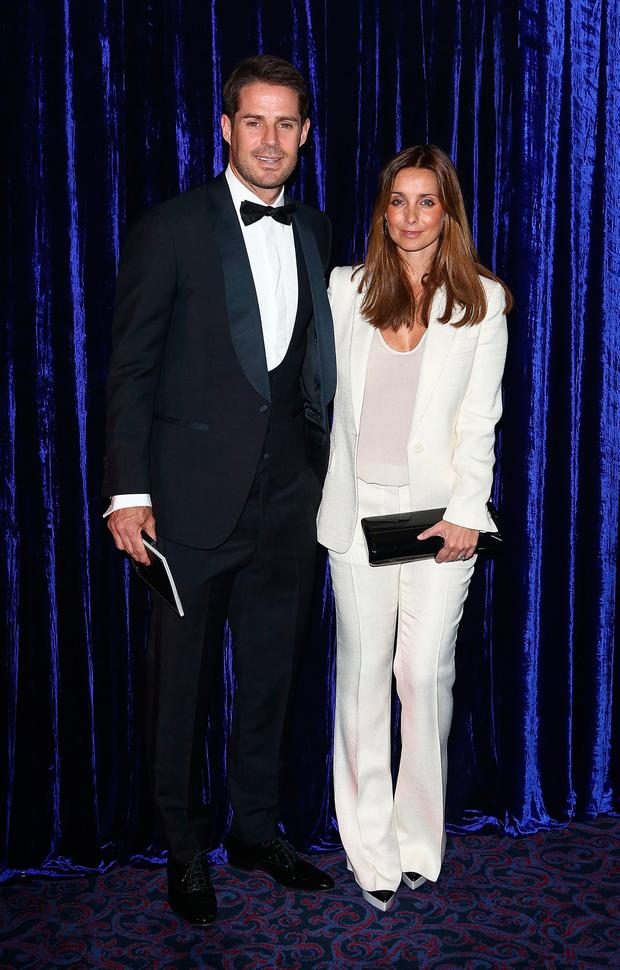 Jamie Redknapp and Louise Redknapp attend the Retail Trust London Ball at Grosvenor House, on January 28, 2013 in London, England. (Photo by Tim Whitby/Getty Images)