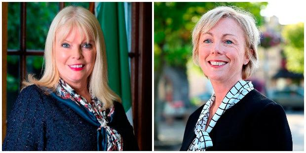 Mary Mitchell O'Connor (left) and Regina Doherty (right)