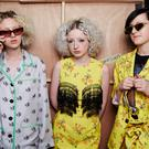 Backstage at Ashley Williams during London Fashion Week