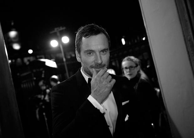 Homebird: Michael Fassbender, pictured at the BFI London Film Festival last week, says he returns to his native Kerry as much as possible
