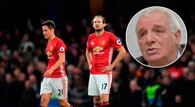 Eamon Dunphy was pessimistic about Manchester United's prospects this season