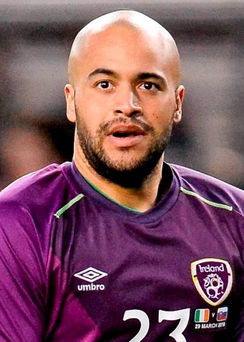 Darren Randolph is the first choice goalkeeper for the Republic of Ireland Photo: Seb Daly / SPORTSFILE