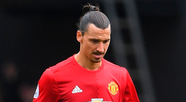 Zlatan Ibrahimovic's early season promise has faded Photo: Laurence Griffiths/Getty Images