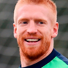 Reading captain Paul McShane Photo: David Maher/Sportsfile