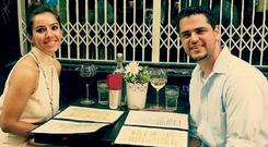 Malak Thawley, who died in Holles Street Maternity Hospital last May, pictured with her husband Alan