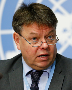 WMO Director-General Petteri Taalas Photo: REUTERS/Denis Balibouse