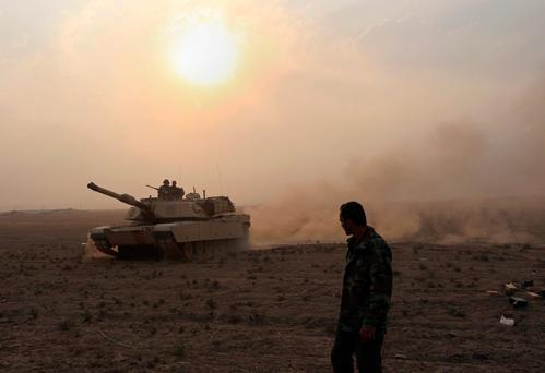 Iraq's elite counterterrorism forces prepare to attack Islamic State positions Photo: AP Photo/Khalid Mohammed