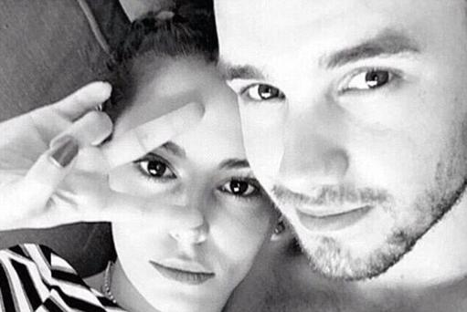 Liam Payne with girlfriend Cheryl Fernandez Versini