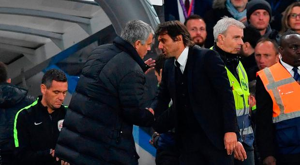 Chelsea boss Antonio Conte and Manchester United manager Jose Mourinho clashed after the recent game at Stamford Bridge