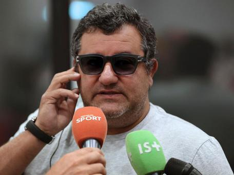 Mino Raiola has enjoyed a lucrative summer of transfers Getty