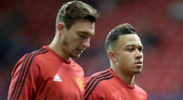 Darmian and Depay have failed to impress since joining last summer. Getty