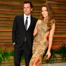 Director Len Wiseman (L) and actress Kate Beckinsale attend the 2014 Vanity Fair Oscar Party hosted by Graydon Carter on March 2, 2014 in West Hollywood, California. (Photo by Pascal Le Segretain/Getty Images)