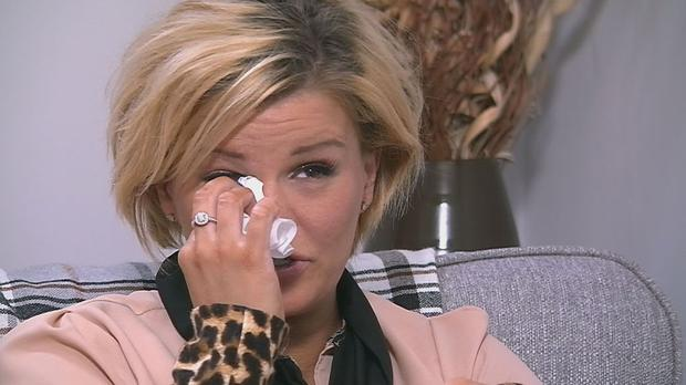 The Atomic Kitten singer broke down as she relived her traumatic experience