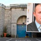 Cork Prison and Graham Johnson (inset)
