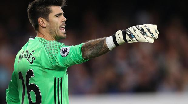 Valdes has played seven times for Middlesbrough this season. Getty