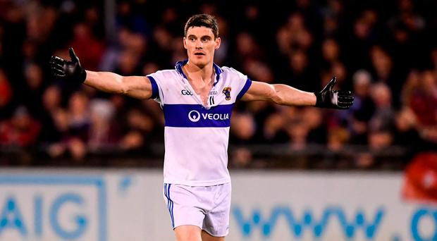 Diarmuid Connolly of St Vincent's during the Dublin County Senior Club Football Championship Semi-Final match between St Vincent's and Ballymun Kickhams at Parnell Park in Dublin. Photo by Stephen McCarthy/Sportsfile
