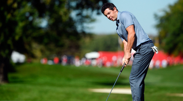 Where McIlroy goes, the club golfer is sure to follow, but he's not saying anything yet about who gets to provide his woods and irons. Photo by Ramsey Cardy/Sportsfile