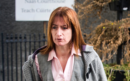 TD Clare Daly arrives in court