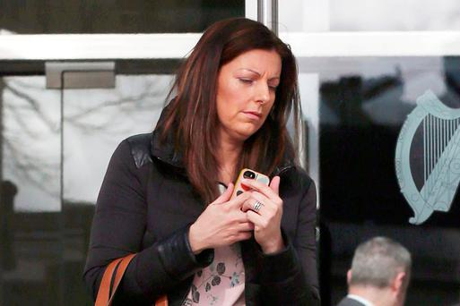Maeve Bell (38), from Dundalk, Co Louth, who yesterday was jailed for 15 months. Photo: Collins