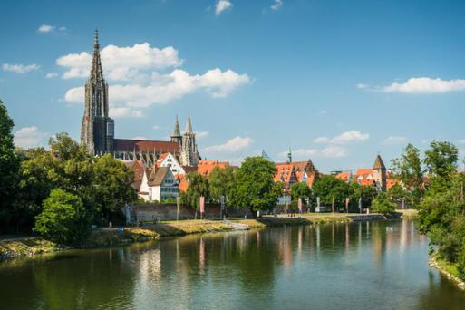 Ulm Minster towers above the city - but for how long? CREDIT: FOTOLIA/AP