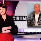 Keelin Shanley on RTÉ Crimecall and inset Oliver Hurley