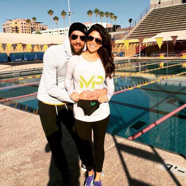 Michael Phelps and wife Nicole Johnson. Picture: Instagram