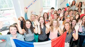 Students at Essential French