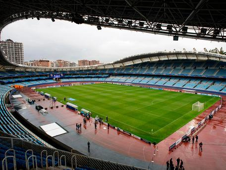 Real Sociedad's home ground, the Anoeta Stadium Getty