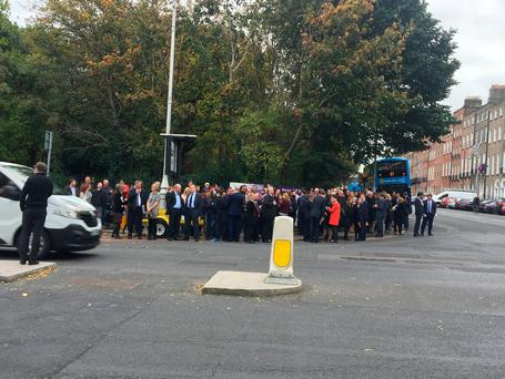Taoiseach and Ministers evacuated from Leinster House