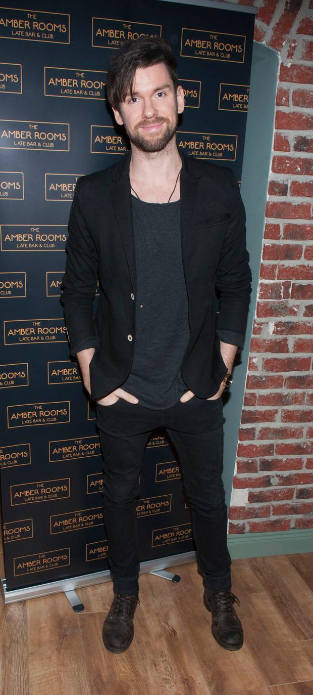 Eoghan McDermott at the opening of The Amber Rooms, Leeson's Streets new VIP venue at The Stone Leaf. Picture: Patrick O'Leary