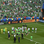 Republic of Ireland fans salute the Irish players after the UEFA Euro 2016 Round of 16 match between France and Republic of Ireland at Stade des Lumieres in Lyon, France. Photo by Paul Mohan/Sportsfile