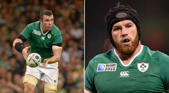 Peter O'Mahony could be brought in, if Sean O'Brien loses out through injury