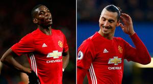 Things haven't been working out for Paul Pogba and Zlatan Ibrahimovic in recent weeks
