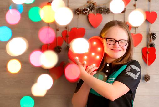 Laoise Kenny at the launch yesterday of Special Olympics Ireland's 'Support an Athlete' campaign. Photo: Marc O'Sullivan
