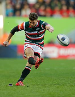 Owen Williams and his Leicester Tigers team-mates will take on Munster at Thomond Park in the Champions Cup on December 10. Picture: Reuters