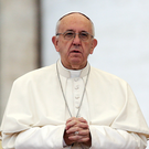Pope Francis: not banning cricket Picture: Reuters