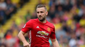 Manchester United's Luke Shaw Photo: Nick Potts/PA Wire