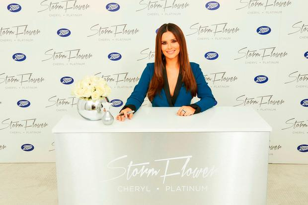 Cheryl attends a signing session for her fragrance