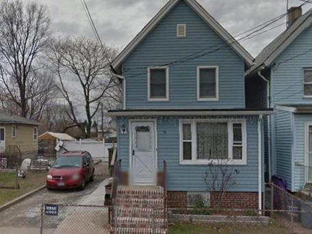 Ms Bradshaw's home where she was found in the basement with defensive wounds and bite marks (Photo: Google Maps)