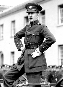 Garda Commissioner Eoin O'Duffy in 1919