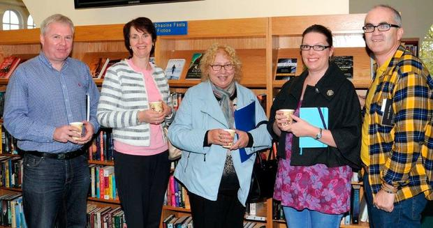 Lionel Mullally, Helen Corcoran, Margaret Maguire, Aisling Doonan and Kevin Brennan