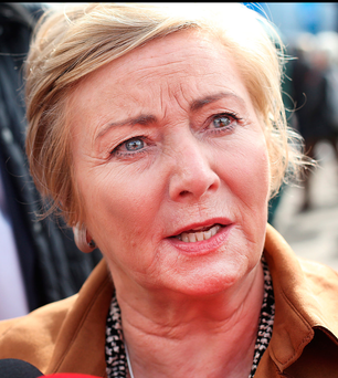 Justice Minister Frances Fitzgerald has been negotiating with two Garda bodies to try to avert strike action Photo: Steve Humphreys