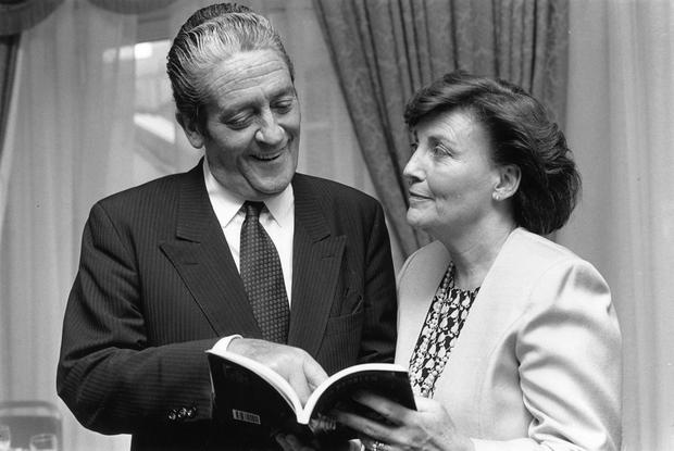 Brian and Ann Lenihan in 1990 Photo: Tony Gavin