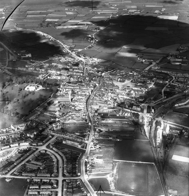 Tralee, Co Kerry, taken on September 7, 1951 Photo: Independent Aerial Photographic Collection