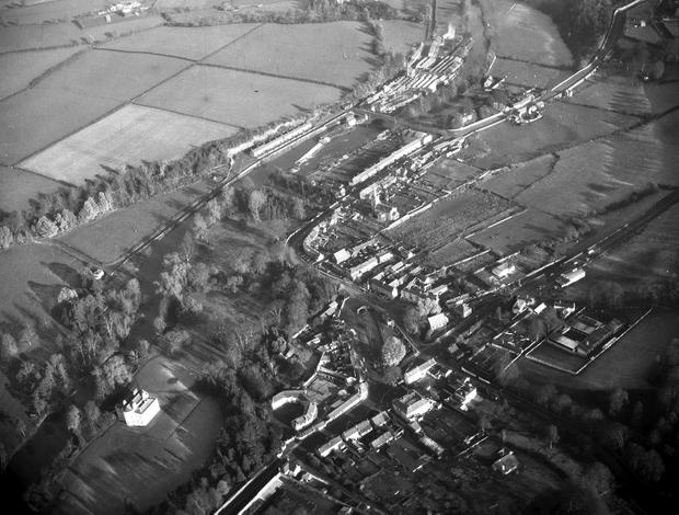 An aerial view of Lucan in west Dublin Photo: Independent Aerial Photographic Collection